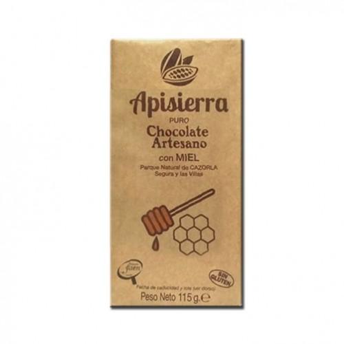 Tableta Chocolate Artesano con Miel 115gr