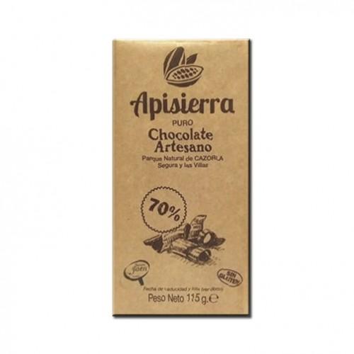 Tableta Chocolate Artesano 70% 115gr