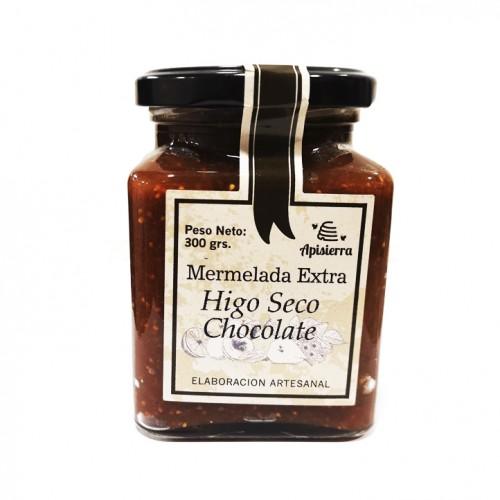 MERMELADA DE HIGOS CON CHOCOLATE 300GR.