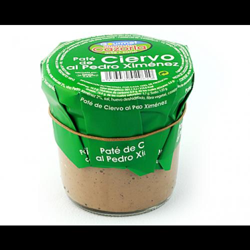 Paté de Ciervo al Pedro Ximenez