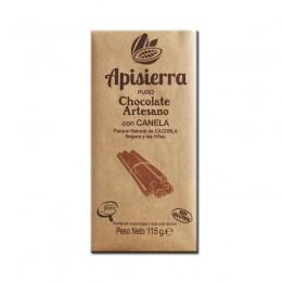 Tableta Chocolate Artesano con Canela 115gr