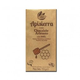 Tableta Chocolate Artesano con Miel 115gr