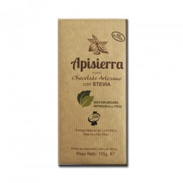 Tableta Chocolate Artesano con Estevia 115gr