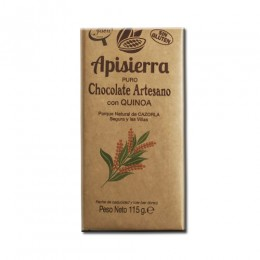 Tableta Chocolate Artesano con Quinoa 115gr