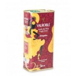 AOVE VALROBLE ARBEQUINA LATA 500ML